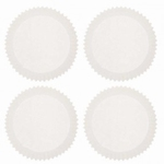 Papieren mini cupcake vormpjes Wit 180stuks art.40.05 35x20mm