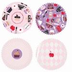 Papieren mini cupcake vormpjes Made By Me 100stuks art.40.08 35x20mm