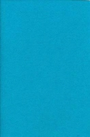 12274-7406 Synthetisch Vilt Turquoise 1mm H&C Fun 20x30cm/5 stuks