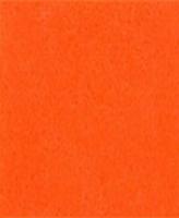 VLAP504 TrueFelt wolvilt Licht Oranje 20x30cm 2mm dik