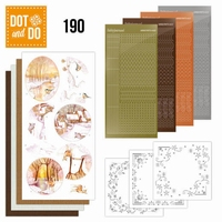 DOT and DO set 190 Yellow Forest