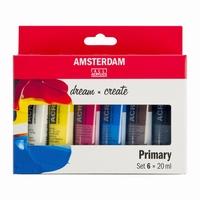 AANB. Amsterdam 17820500 standard acryl set 6x20ml Primary