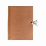 Paper Patch Dagboek met slot, om zelf te decoreren 50.54 21x16cm 70pag.