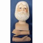 Crea Doll poppensetje hoofd en handjes Man met baard 800033