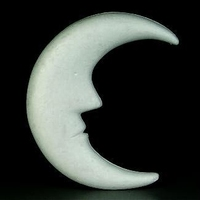 Styropor maan groot 610163 20 cm