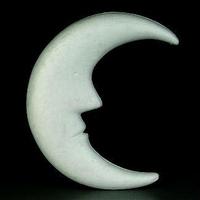 Styropor maan groot 610163