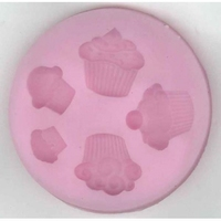 Siliconen pushmold/vorm 103 Cup Cakes (foodproof)