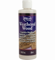 Deco Art Americana DAS8-9 Wheatered Wood Crackle medium 236ml/8oz