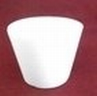 Styropor Cupcake groot boven 9cm onder 7cm hoog 5cm