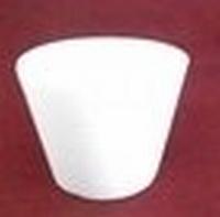 Styropor Cupcake groot boven 9cm onder 7cm