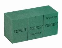 Steekschuim (oases) voor vers groen blok