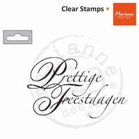 CS0897 Clearstamps Prettige Feestdagen