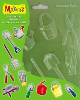 39012 Makin's Pushmold Garden tools 17,5 x 11,5cm
