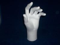 Styropor Hand (alleen linkerhand verkrijgbaar) 21 cm
