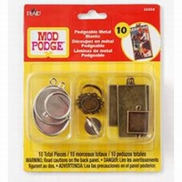 Mod Podge 23358 Podgeable Metal Blanks 10 st