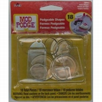 Mod Podge 12918 Podgeable Shapes Basics 18 stuks