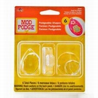 Mod Podge 25014 Podgeable Shapes Facet Plexi vormen 6st