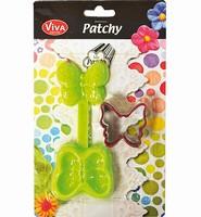 Patchy Schmetterling mit ausstanzer art 9302.040.00