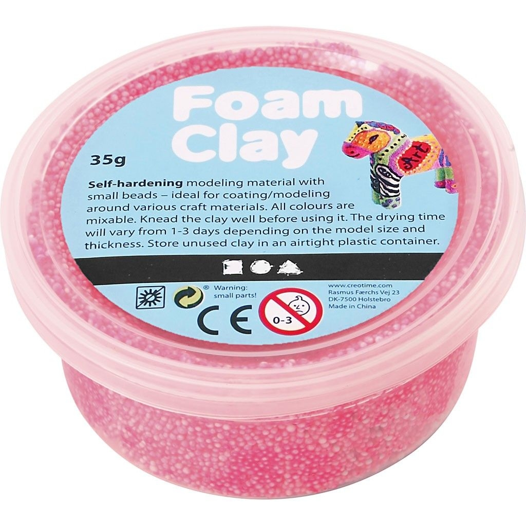 CREOTIME Foam clay, Silk clay, Pearl clay NIEUW