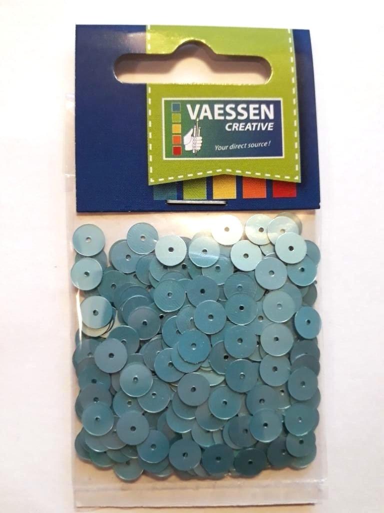 Darice/Vaessen Pailletten 6mm plat en facon