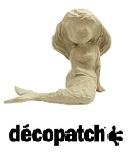 DECOPATCH papier-mache figuren, papier, lijm etc.