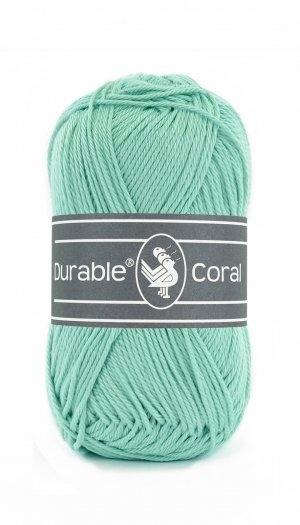 Durable Coral haak en breikatoen