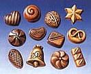 Gietvormen geschikt voor Chocolade