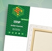 Green Leafs Artist 1,7cm Canvas doeken