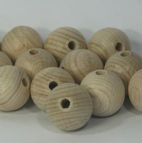 Houten ballen - eieren - kralen - ringen