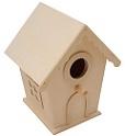 Houten huisjes / vogelhuisjes / vuurtorens