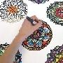 JEJE products: Mandala en Dreamcatcher stickers