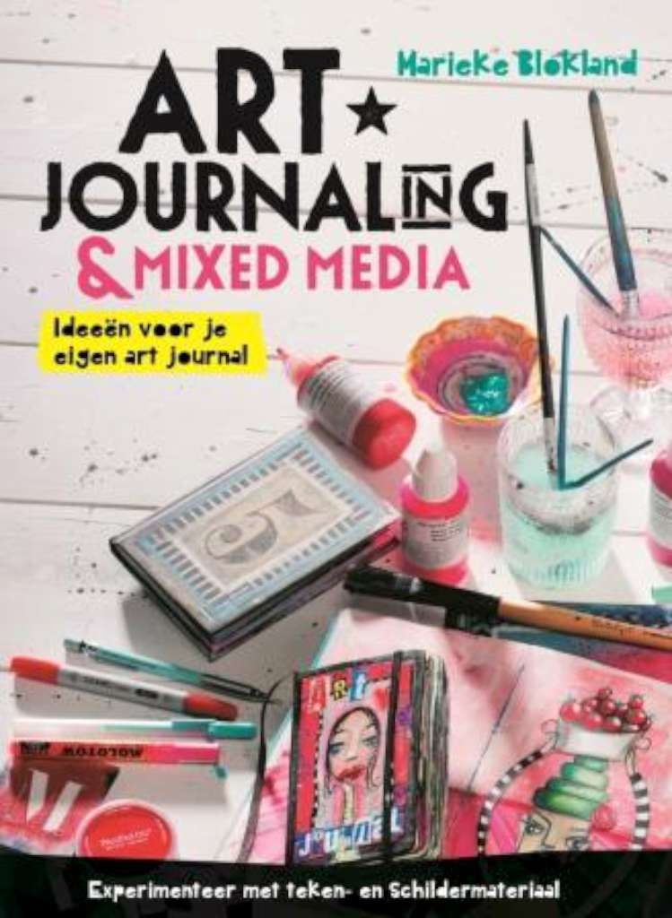 MIXED MEDIA en ART JOURNALING