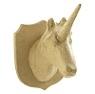 Papier mache dierenkoppen: Trofeeen en Koppies