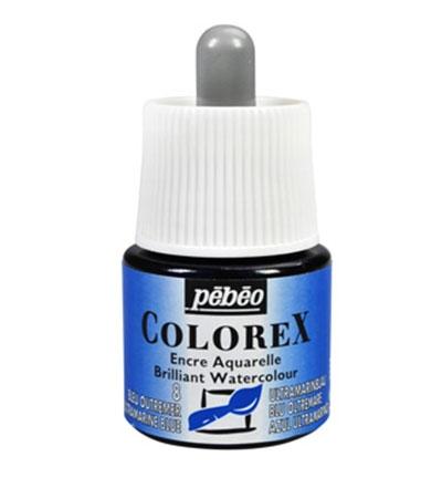 Pebeo Colorex inkt op waterbasis en bijproducten