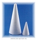 Styropor Kegels en Piramides