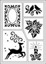 VIVA Decor Stencils, Sjablonen, Schablonen